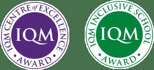 QMセンターオブエクセレンスとインクルーシブスクールのロゴ