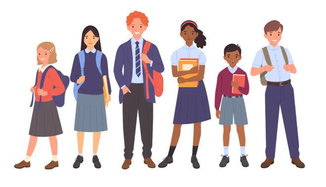 インターナショナルスクールの生徒